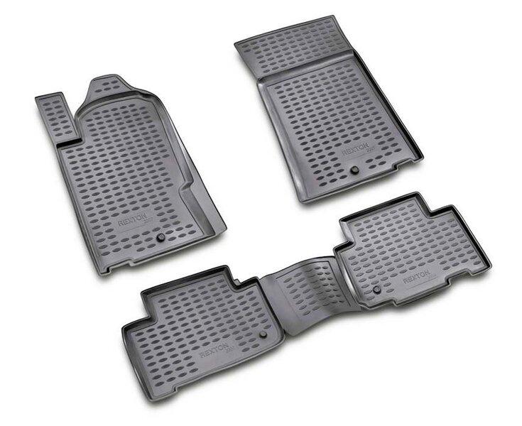 3D SSANGYONG Rexton 2006-2012, 4 pcs. /L58010G /gray