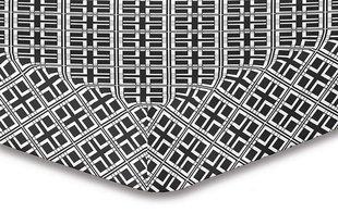 DecoKing простынь Hypnosis Collection Triangles S2, 160x200 см