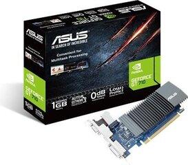 ASUS GT710-SL-1GD5-BRK GeForce GT 710 1GB DDR5 90YV0AL2-M0NA00 cena un informācija | ASUS GT710-SL-1GD5-BRK GeForce GT 710 1GB DDR5 90YV0AL2-M0NA00 | 220.lv