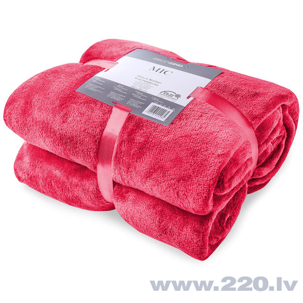 Pleds MIC Red, 150x200 cm