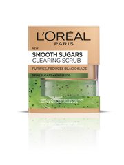 Скраб для лица с сахаром L'Oreal Paris Smooth Sugars 50 мл