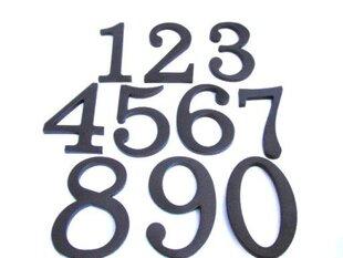 """Dzīvokļa/mājas durvju numurs """"0"""", 180mm"""