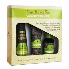 Комплект для ухода за волосами Macadamia Deep Healing Trio 300 мл