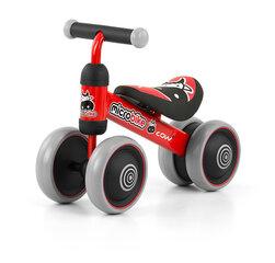 Četrriteņu velosipēds (sarkans), MILLY MICRO