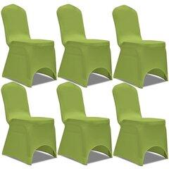 Kėdžių tamprūs užvalkalai, 6 vnt cena un informācija | Mēbeļu pārvalki | 220.lv