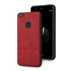 Qult Luxury Drop silikona aizmugurējais vāciņš telefonam Samsung G955 Galaxy S8 Plus, Sarkans