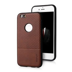 Qult Luxury Drop Back Case Silicone Case for Apple iPhone 7 Plus Brown