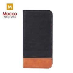 Mocco Smart Retro Book Case For Apple iPhone 7 / 8 Black - Brown