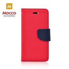 Mocco Fancy Book Case For Samsung A530 Galaxy A8 (2018) Red - Blue