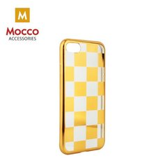 Mocco ElectroPlate Chess Silicone Case for Samsung J330 Galaxy J3 (2017) Gold