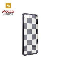 Mocco ElectroPlate Chess Silicone Case for Apple iPhone 6 / 6S Black