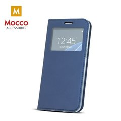 Mocco Smart Look Magnet Book Case With Window For Huawei P10 Lite Blue