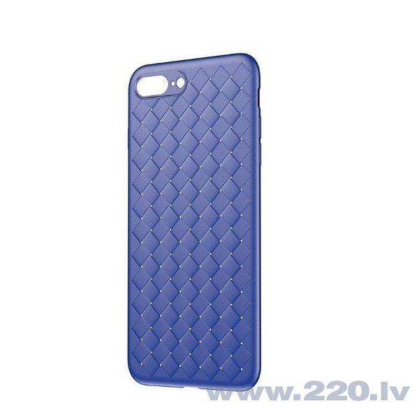 Baseus Weaving Case Impact Silicone Case for Apple iPhone X Blue