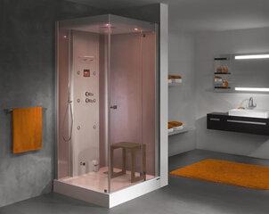 Ūdens masāžas dušas kabīne Sanplast KN/Space Line-HP 100x100 P cena un informācija | Hidromasāžas dušas kabīnes | 220.lv