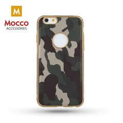 Mocco Army Back Case Silicone Case for Samsung A320 Galaxy A3 (2017) Green