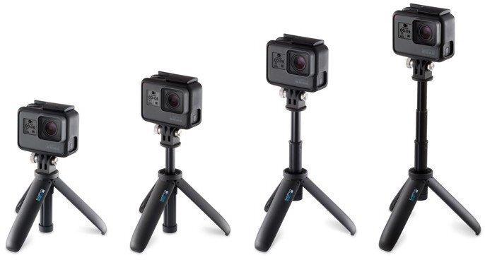 GoPro Shorty Mini Extension Pole+штатив, черный