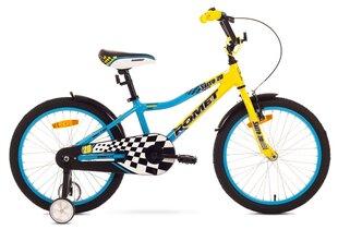 "Bērnu velosipēdsRomet Salto 20"" Alu 2018 yellow-blue"