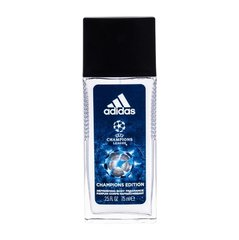 Dezodorants Adidas UEFA Champions League Champions Edition vīriešiem 75 ml