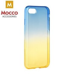 Mocco Gradient Back Case Silicone Case With gradient Color For Xiaomi Redmi 4A Blue - Yellow