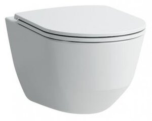 Piekarināms tualetes pods Laufen Pro Rimless ar Slim soft-close vāku cena un informācija | Tualetes podi | 220.lv