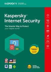 Kaspersky Internet Security Multi-Device 2018 jaunā licence (1 ierīce)
