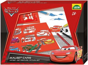 Disney Cars набор трафаретов