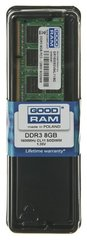 GOODRAM SO-DIMM DDR3 8192MB PC1600 CL11 512x8 1,35V cena un informācija | GOODRAM SO-DIMM DDR3 8192MB PC1600 CL11 512x8 1,35V | 220.lv