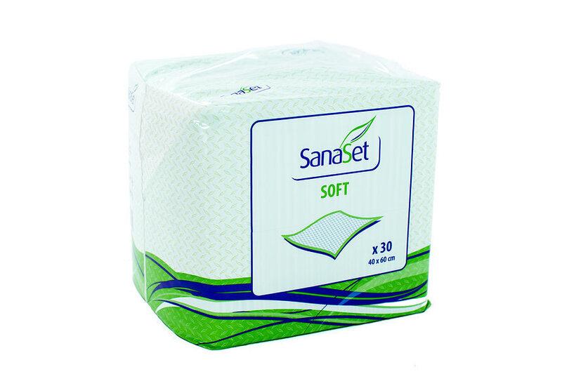 Vienreizējie autiņi SanaSet Soft, 40x60 cm, 30 gab.