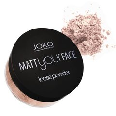 Berams matēts pūderis Joko Make-Up Matt Your Face 23 g