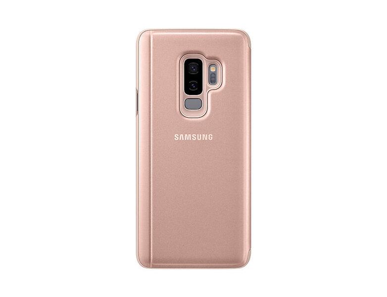 Aizsargmaciņš - statīvs Samsung Clear View EF-ZG965CFEGWW piemērots Samsung Galaxy S9+ (G965) cena