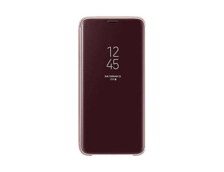 Aizsargmaciņš - statīvs Samsung Clear View EF-ZG960CFEGWW piemērots Samsung Galaxy S9 (G960)
