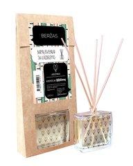 Mājas smarža ar nūjiņām Aromika Bērzs 100 ml