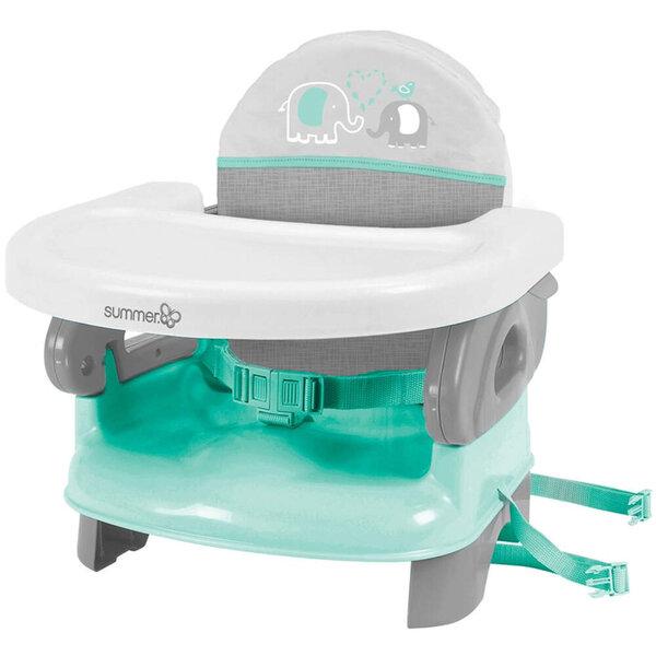 Bērnu krēsls Summer Infant Deluxe Comfort Teal Grey