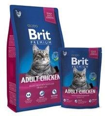 Sausā barība kaķiem Brit Premium Cat Adult ar vistu, 8 kg cena un informācija | Sausā barība kaķiem | 220.lv