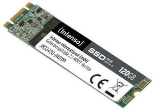 Vidinis kietasis diskas Intenso High Performance internal SSD, 120GB M.2 SATA III