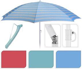 Pludmales lietussargs cena un informācija | Saulessargi, marķīzes un statīvi | 220.lv