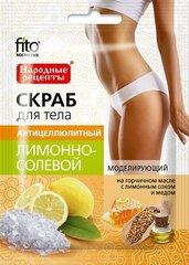 Anti-celulīta ķermeņa skrubis Fitokosmetik 100 ml cena un informācija | Ķermeņa skrubji | 220.lv