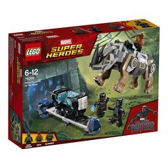 76099 Konstruktors LEGO® Marvel Super Heroes Rhino Face-Off by the Mine