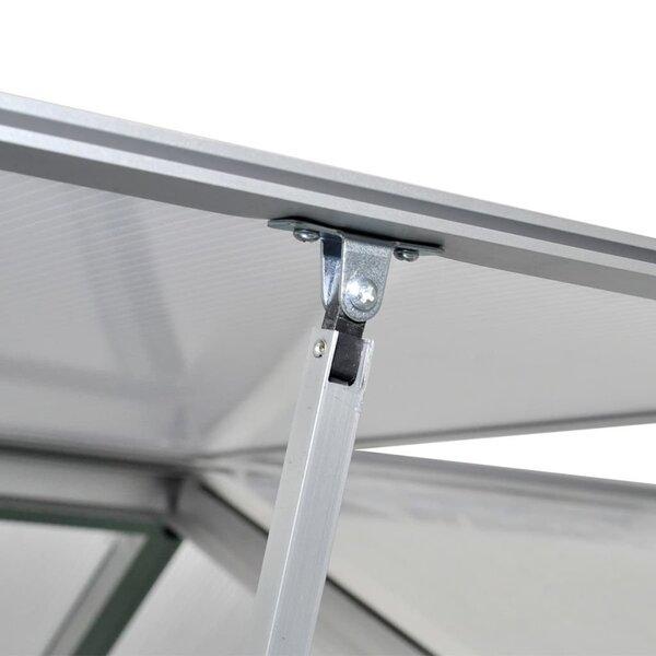 Šiltnamis su sustiprinto aliuminio pagrindo rėmu, 3,46 m²