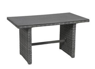 Āra galds Bari, pelēks cena un informācija | Dārza galdi | 220.lv