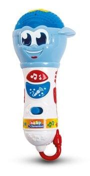 Mikrofons ar skaņām un gaismām Clementoni Baby