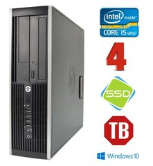 HP 8300 Elite SFF i5-3470 4GB 120SSD+1TB DVDRW WIN10Pro