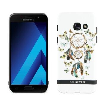 Samsung Galaxy A5 2017 Boho Motif Attrape Reve Cover By So Seven White cena un informācija | Maciņi, somiņas | 220.lv