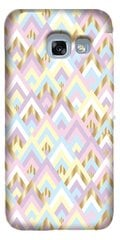 Samsung Galaxy A3 2017 Notting Hill Triangles Cover By So Seven Pink