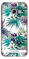 Samsung Galaxy A3 2017 Rio Orchid Cover By So Seven Green