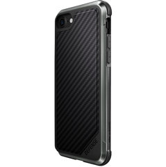 Apple iPhone 7/8 Defense Lux Cover By Xdoria Black Carbon