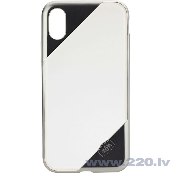 Apple iPhone X Revel Lux Cover By Xdoria Clear Silver