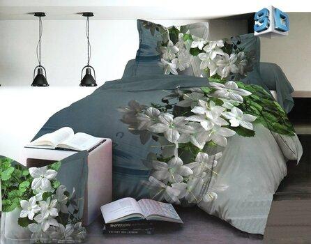 3D комплект постельного белья, 3 части цена и информация | Комплекты постельного белья | 220.lv