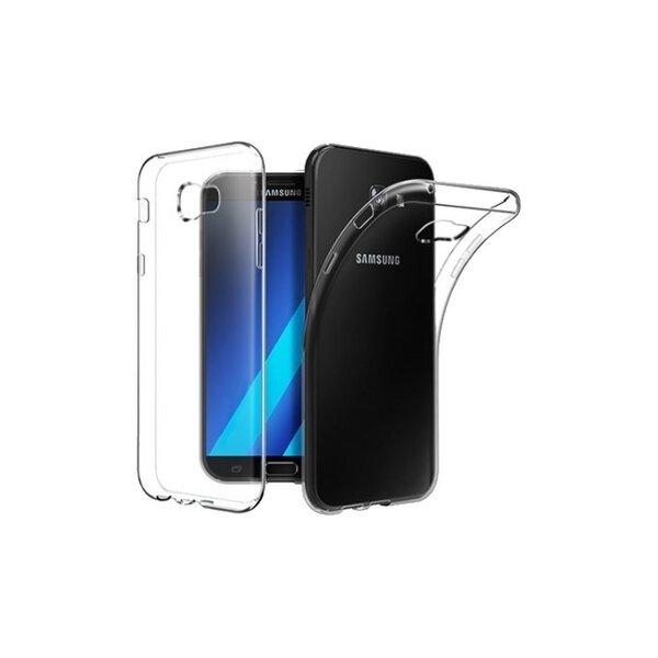 Aizsargvāciņš Just Must Nake, piemērotsSamsung Galaxy A5 2017 (A520) telefonam, caurspīdīgs