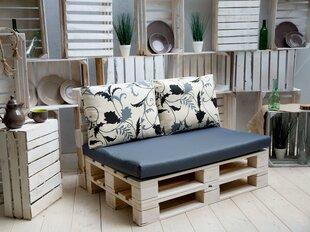 Комплект подушек Patio Larisa Basic L058-16LB белый /черный  цена и информация | Подушки для стульев | 220.lv